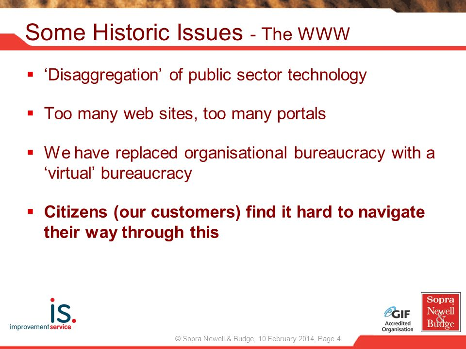 Some Historic Issues - The WWW