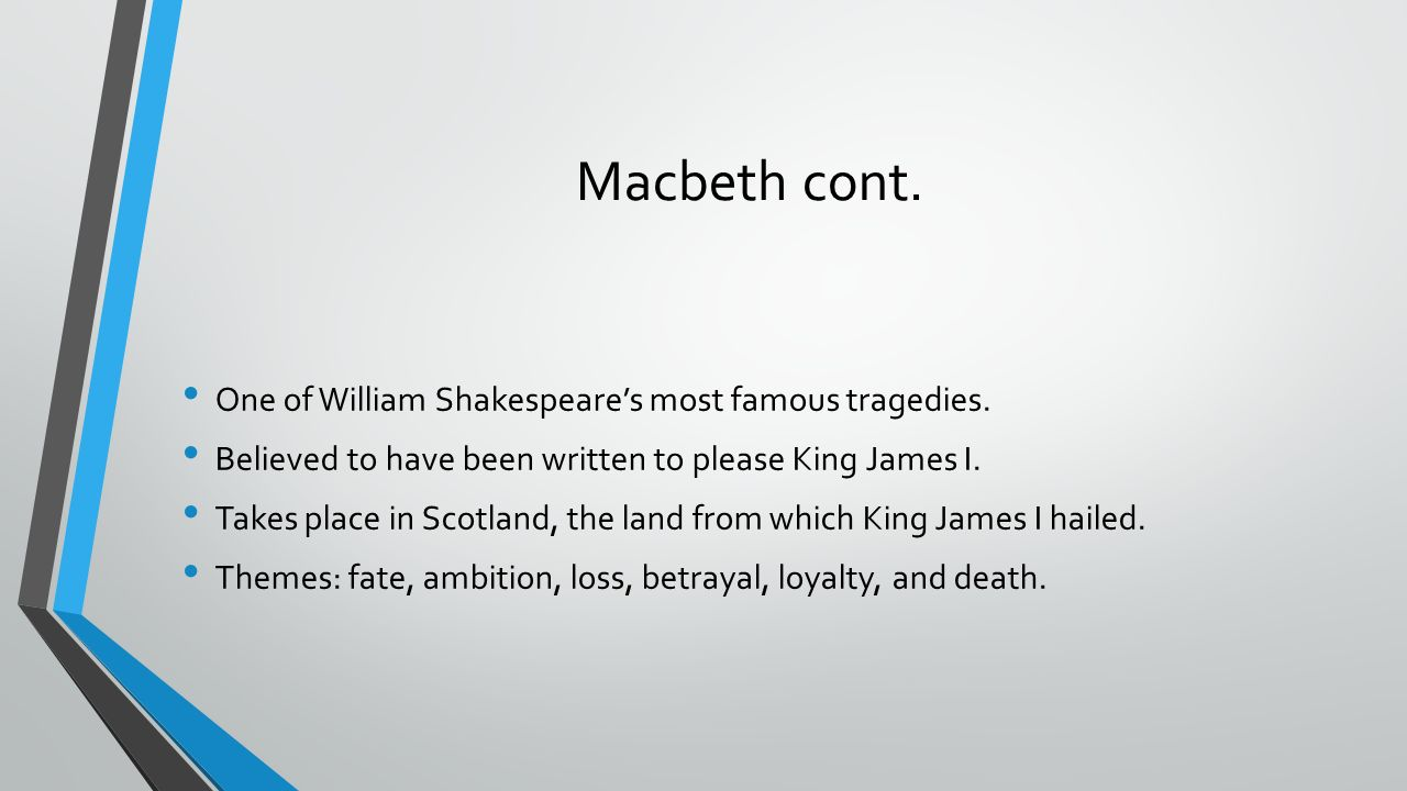 loyalty and treachery in shakespeares macbeth