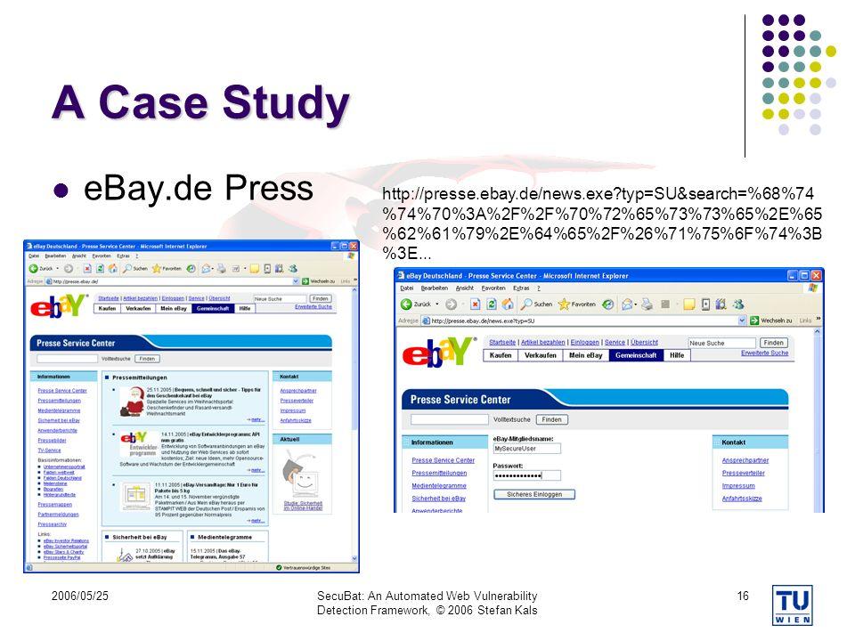 A Case Study eBay.de Press