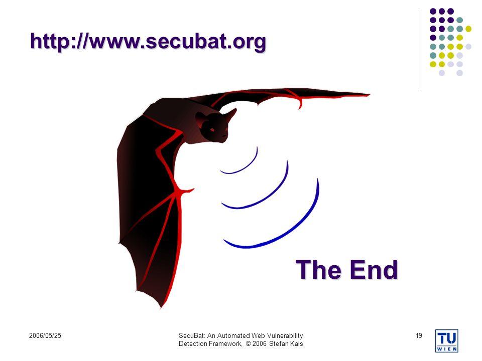 The End http://www.secubat.org