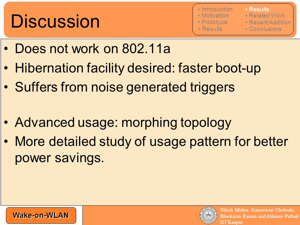 Discussion Does not work on 802.11a