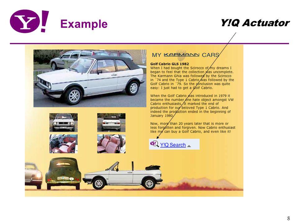 Example Y!Q Actuator