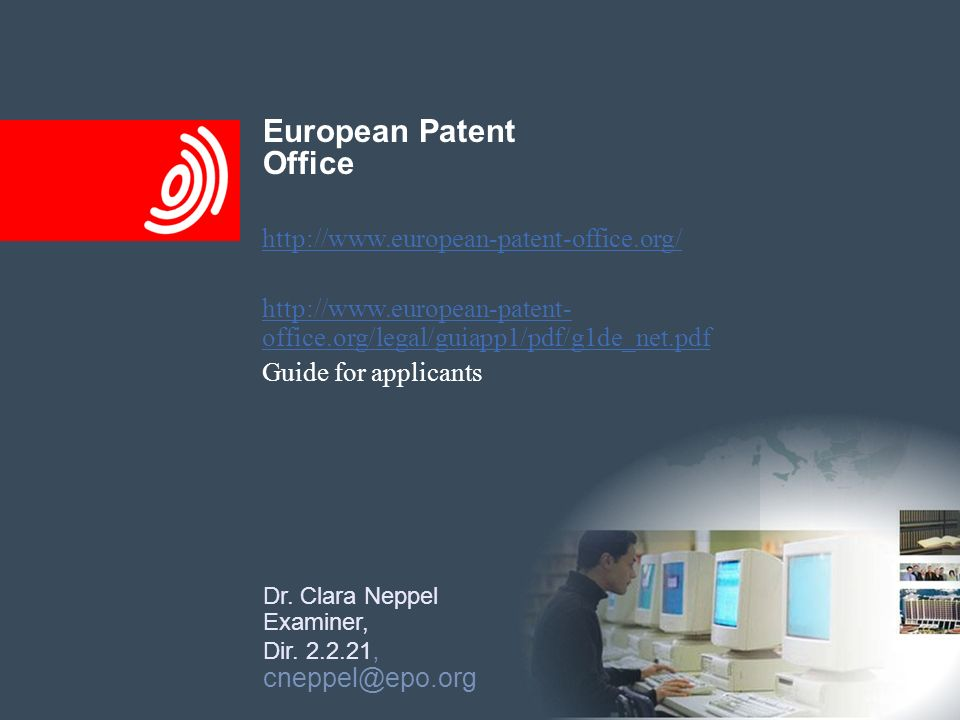 European Patent Office http://www.european-patent-office.org/