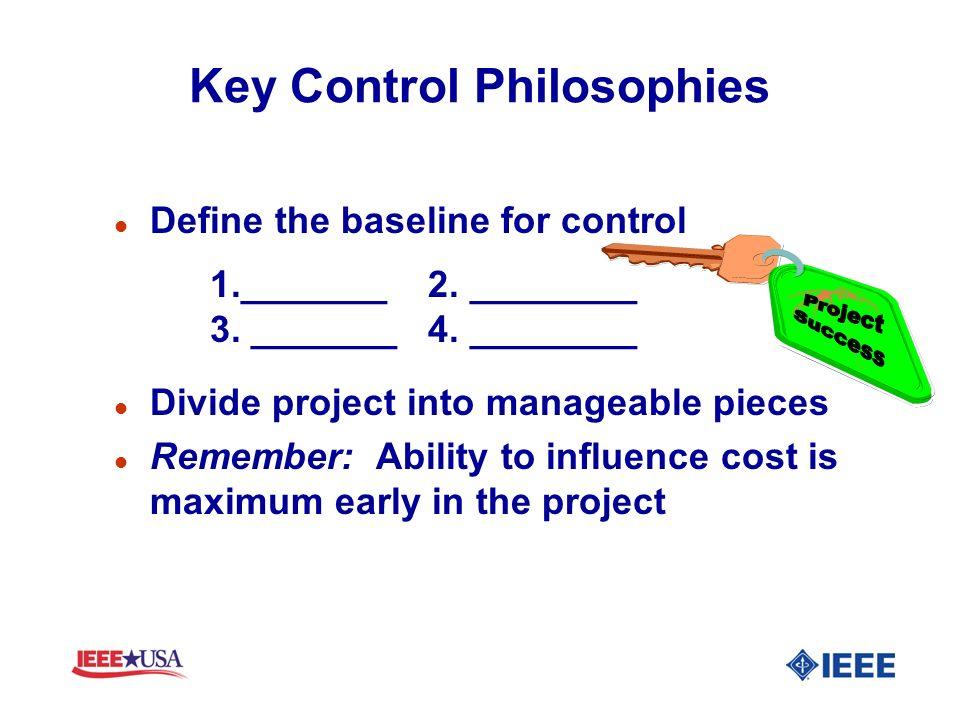 Key Control Philosophies