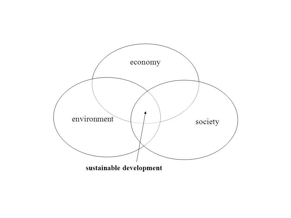 economy environment society sustainable development