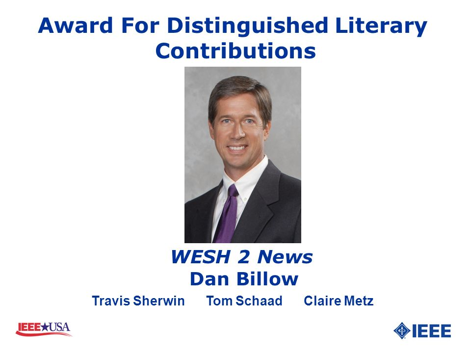 Award For Distinguished Literary Contributions