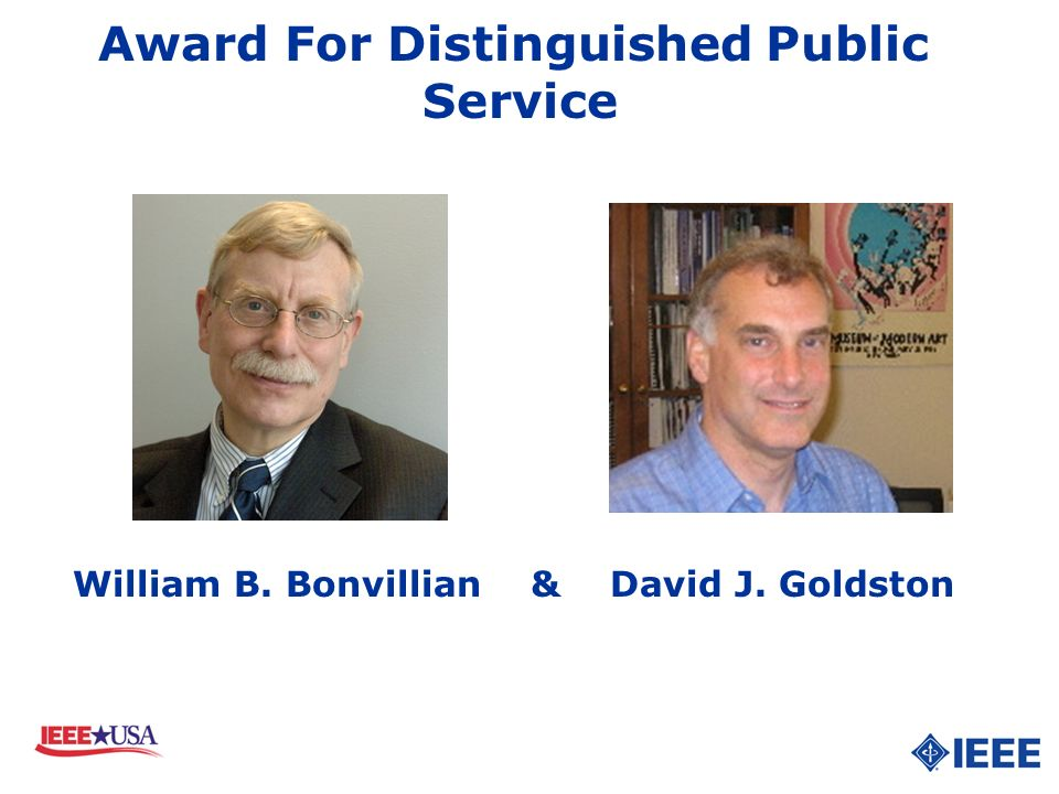 Award For Distinguished Public Service