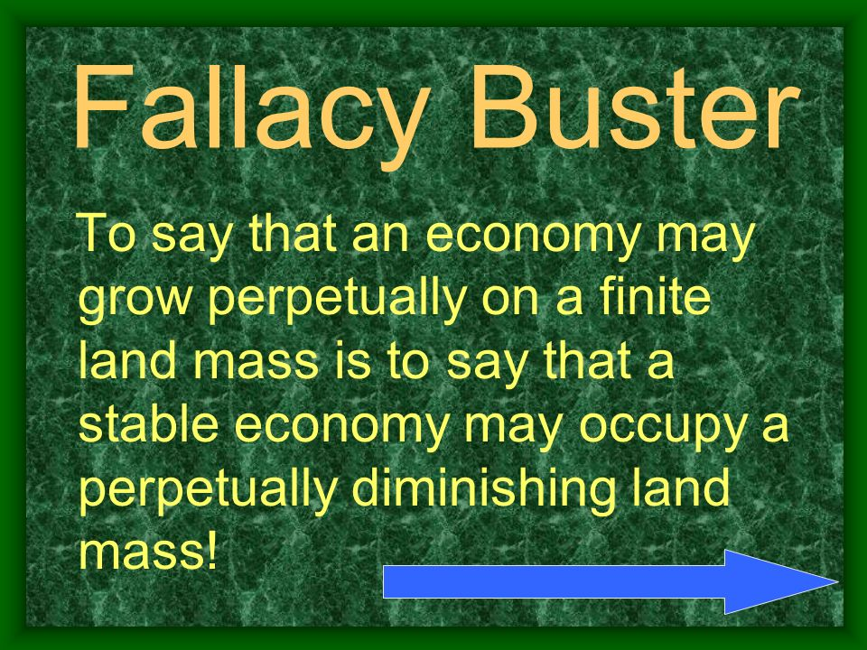 Fallacy Buster