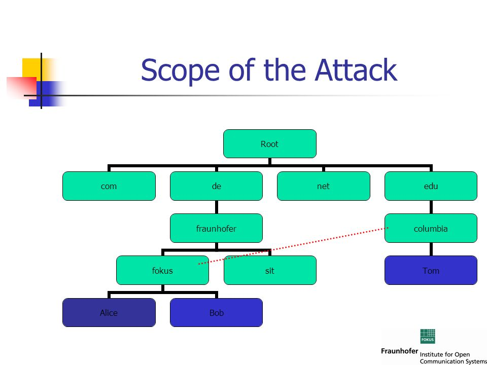 Scope of the Attack