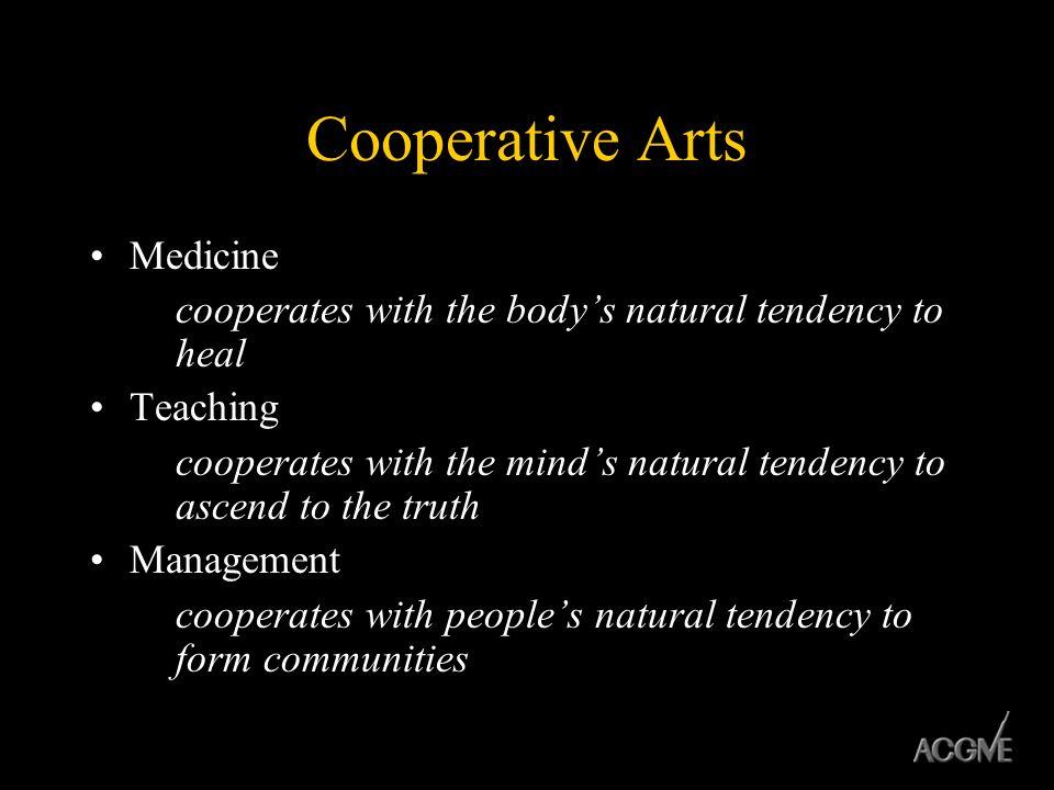 Cooperative Arts Medicine