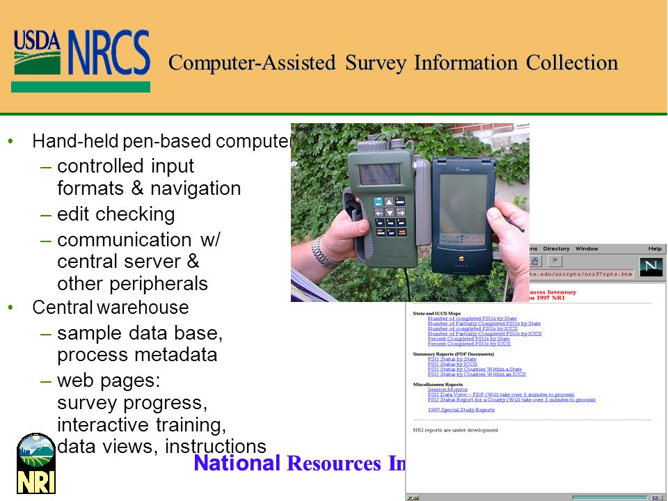 Computer-Assisted Survey Information Collection