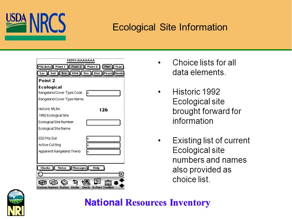 Ecological Site Information