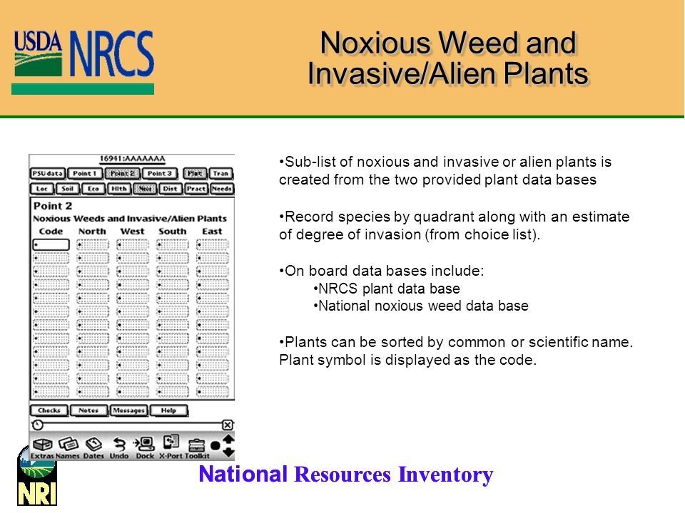 Noxious Weed and Invasive/Alien Plants