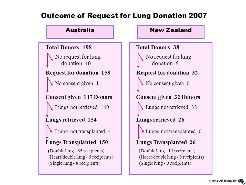 Outcome of Request for Lung Donation 2007