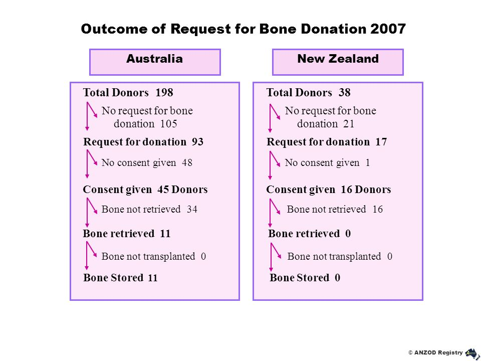 Outcome of Request for Bone Donation 2007