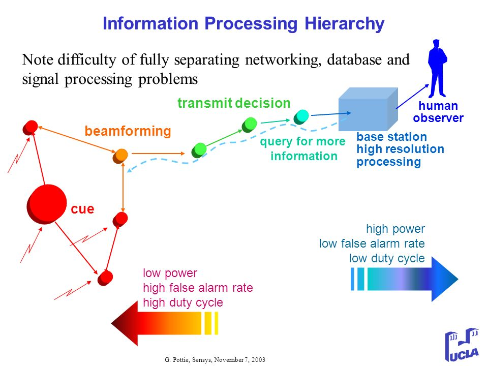 Information Processing Hierarchy query for more information