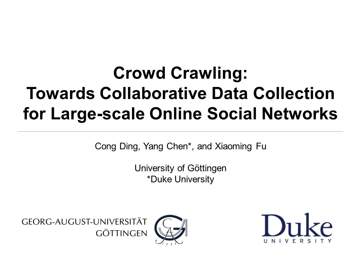 Crowd Crawling: Towards Collaborative Data Collection for Large-scale Online Social Networks