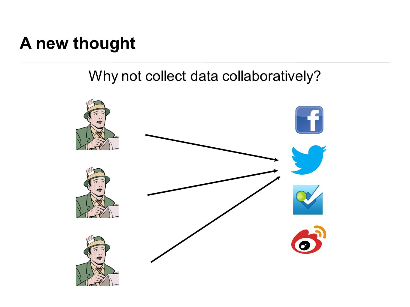 Why not collect data collaboratively
