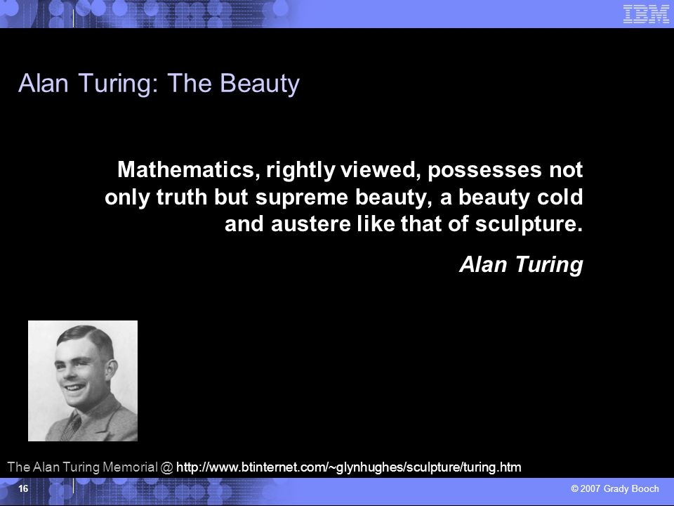 Alan Turing: The Beauty