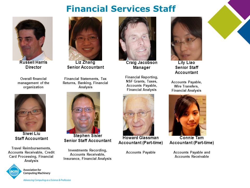 Financial Services Staff