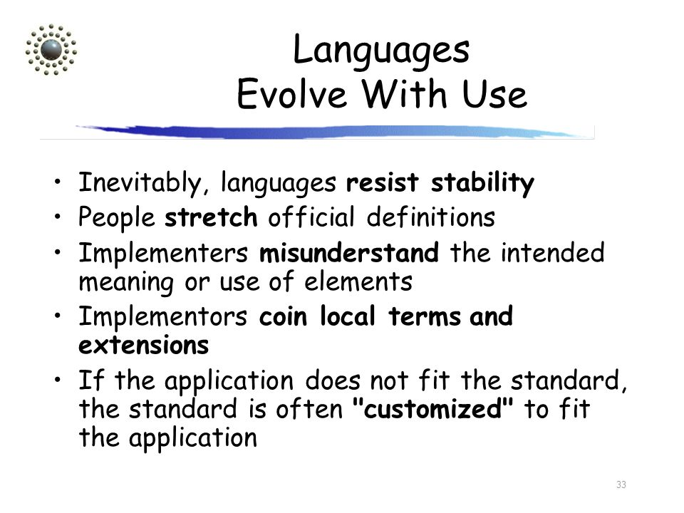 Languages Evolve With Use