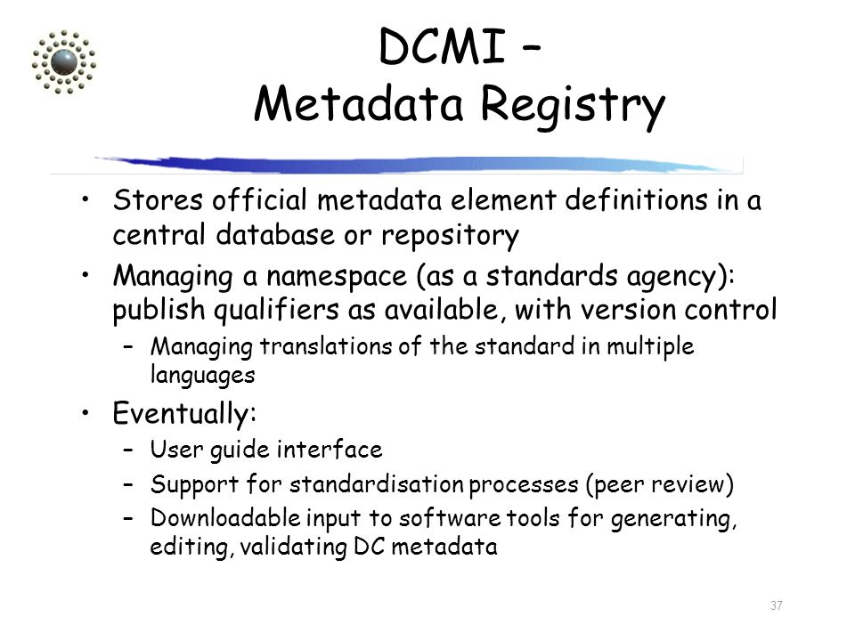 DCMI – Metadata Registry
