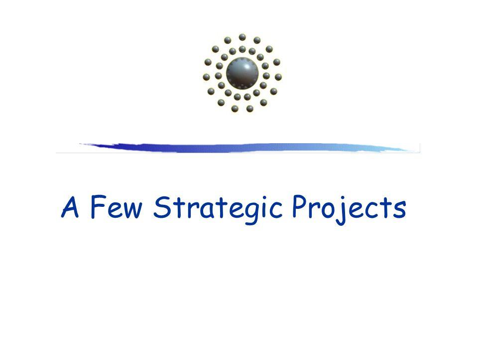 A Few Strategic Projects