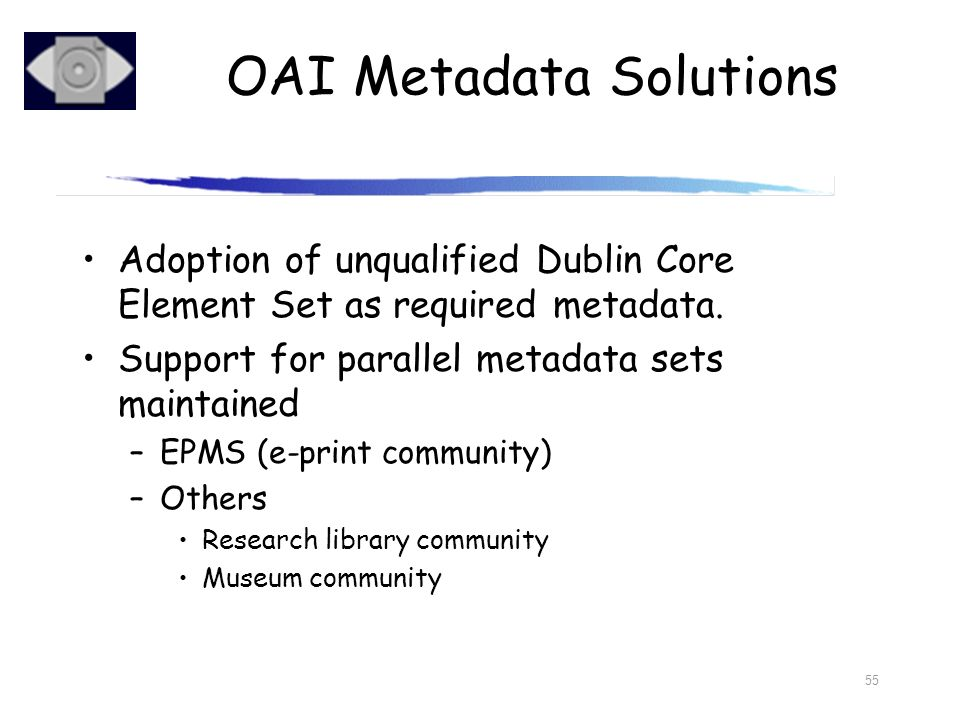 OAI Metadata Solutions
