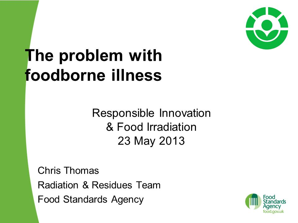 The problem with foodborne illness