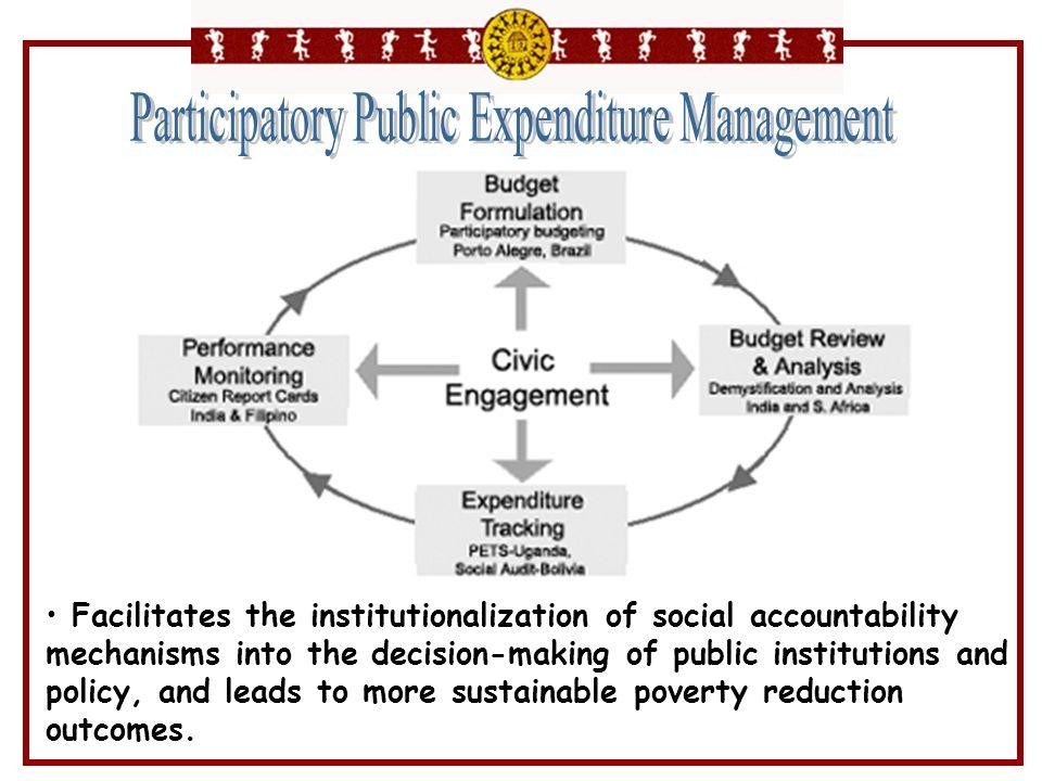 Participatory Public Expenditure Management