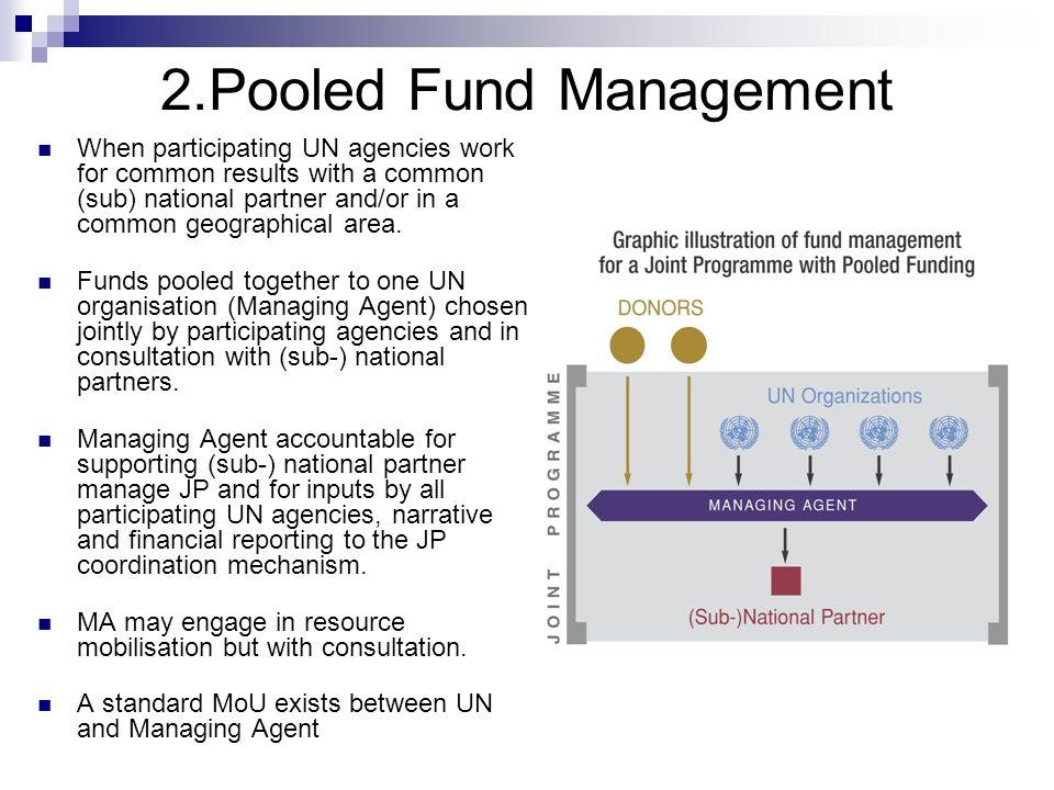2.Pooled Fund Management