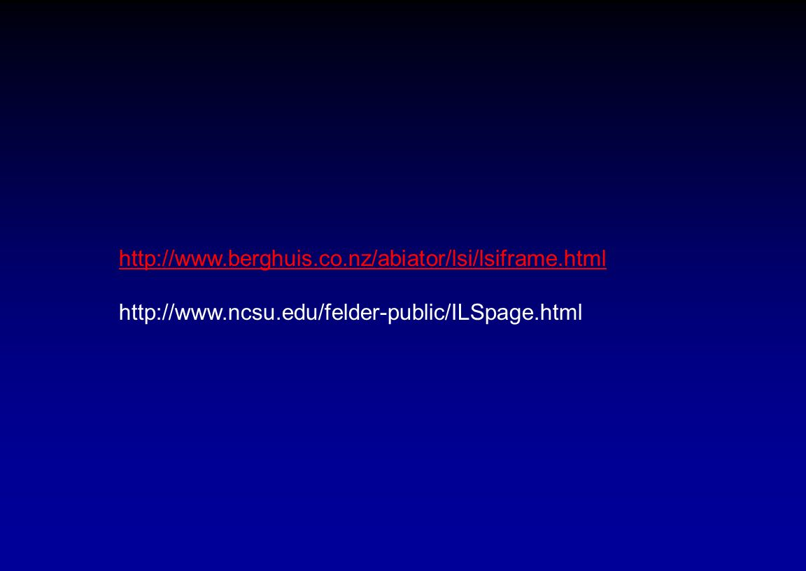 http://www.berghuis.co.nz/abiator/lsi/lsiframe.html http://www.ncsu.edu/felder-public/ILSpage.html.