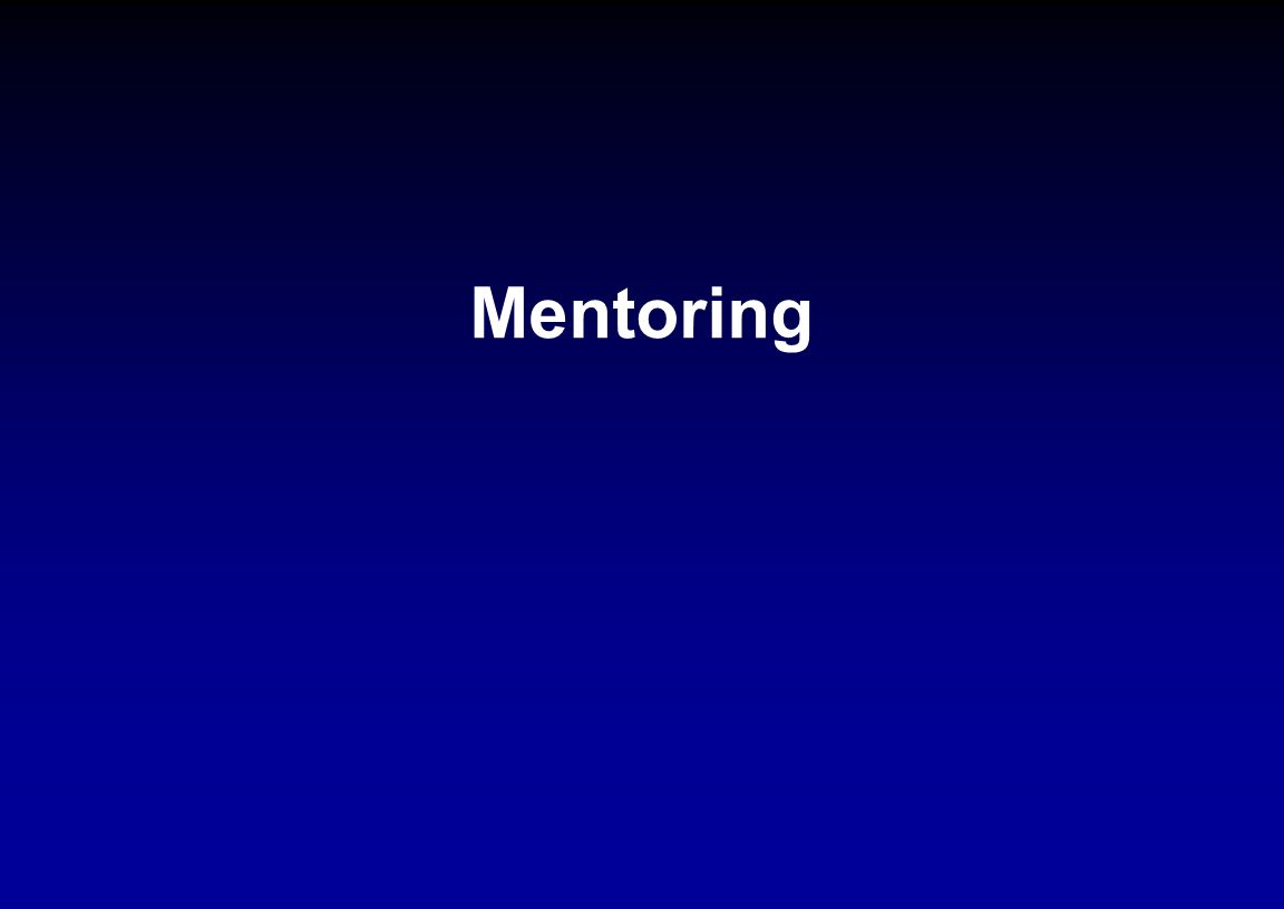 Mentoring NSF ADVANCE