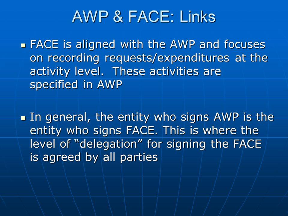 AWP & FACE: Links