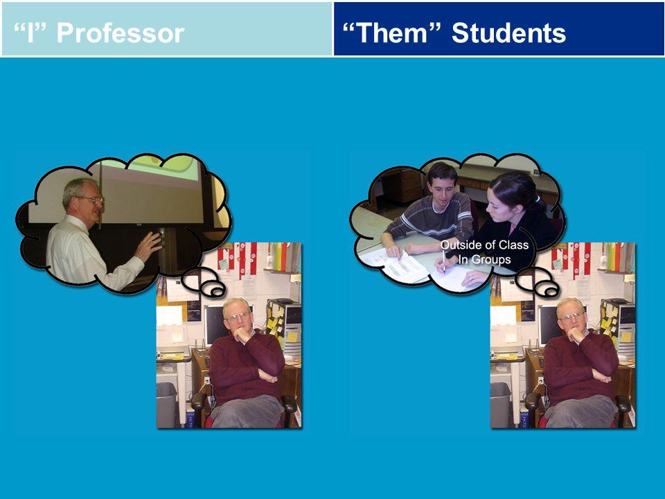 I Professor Them Students