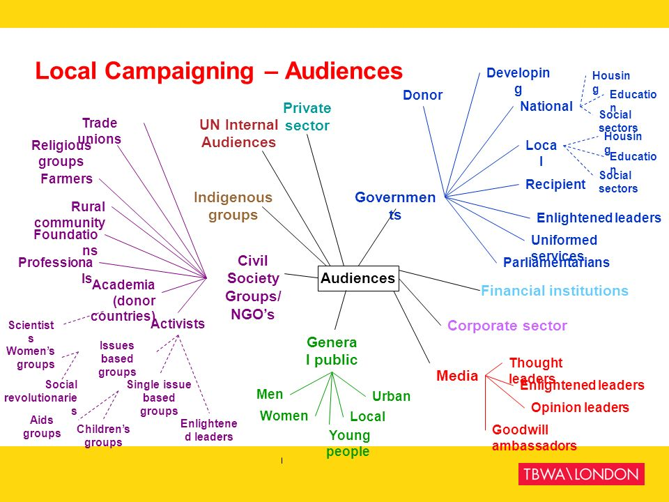 Local Campaigning – Audiences