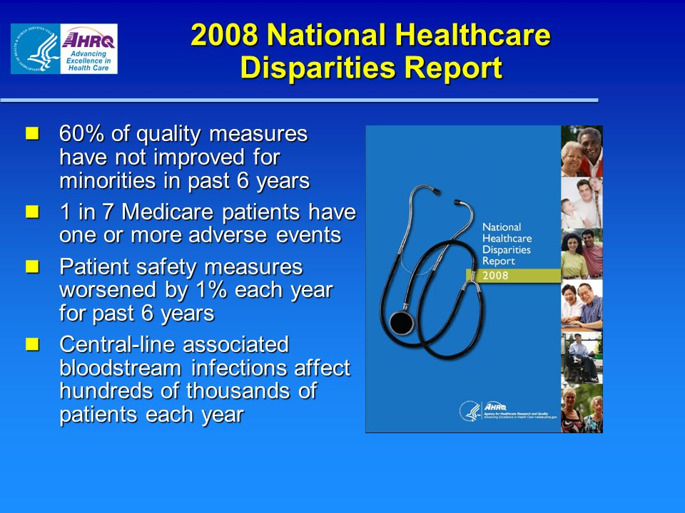 2008 National Healthcare Disparities Report