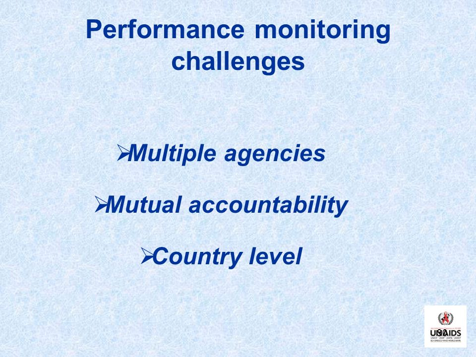 Performance monitoring challenges