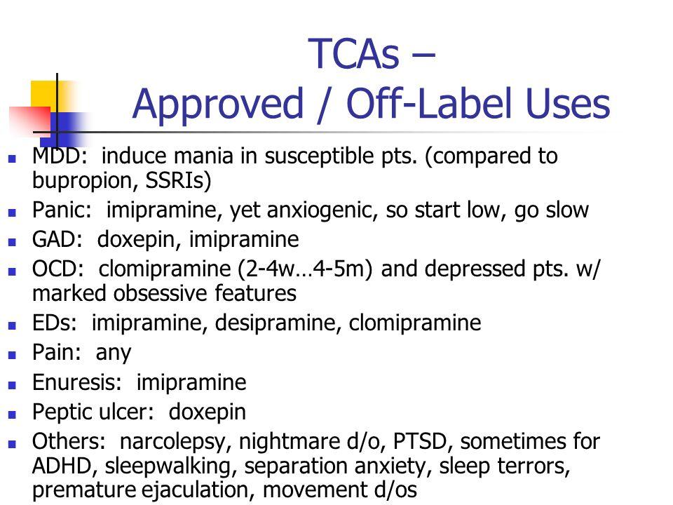 Imipramine Tofranil Uses