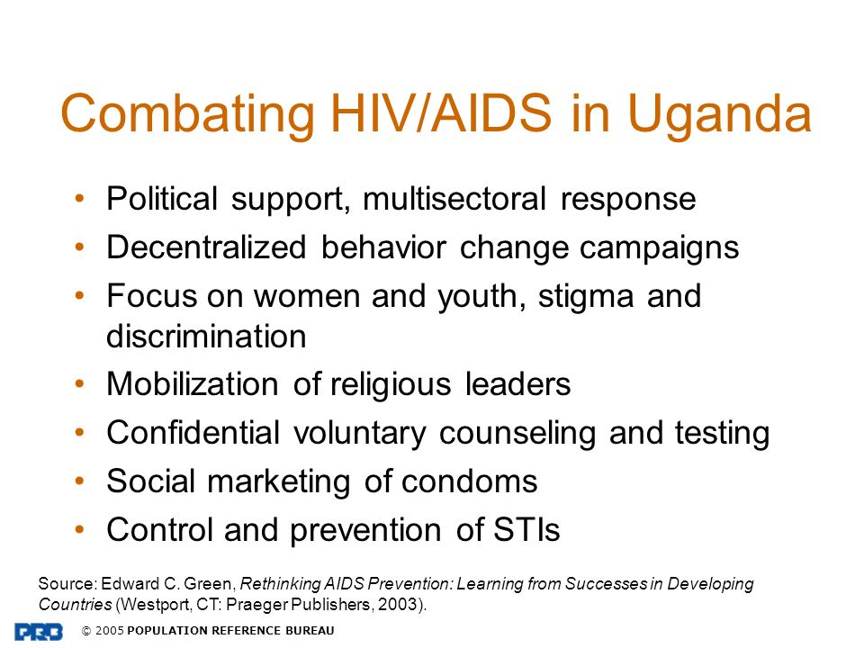 Combating HIV/AIDS in Uganda