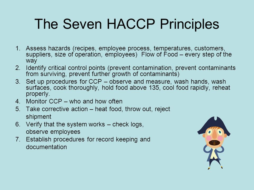 The Seven HACCP Principles