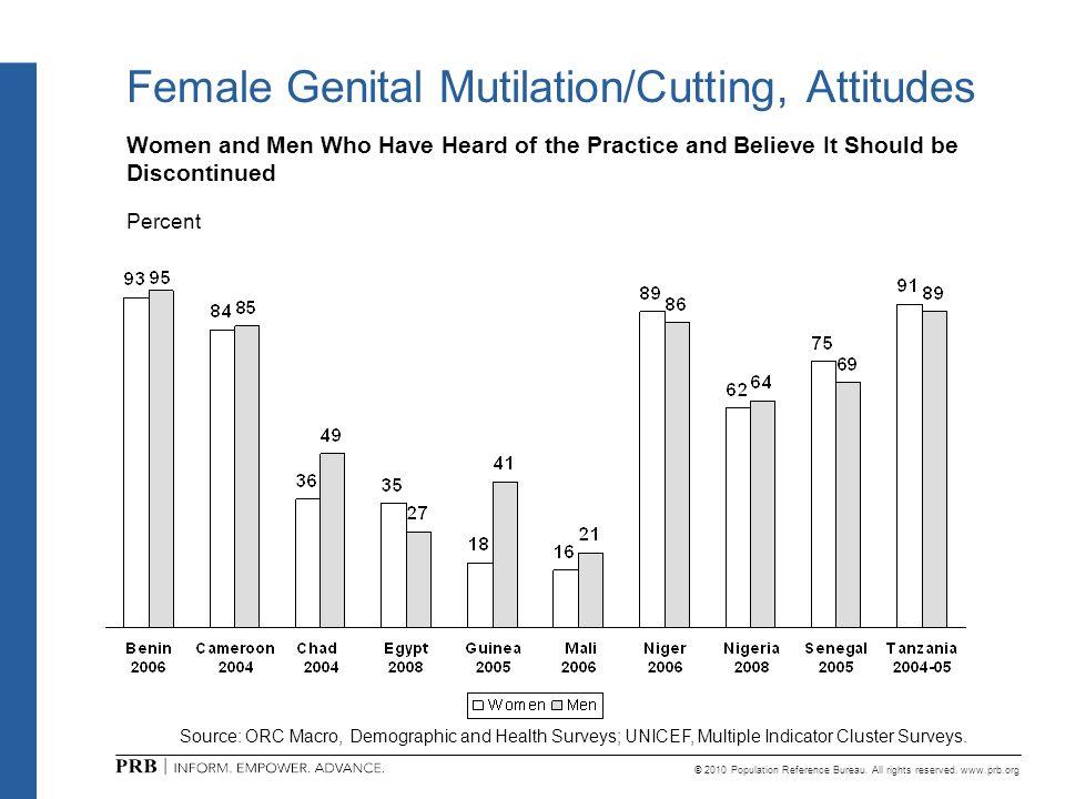 Female Genital Mutilation/Cutting, Attitudes
