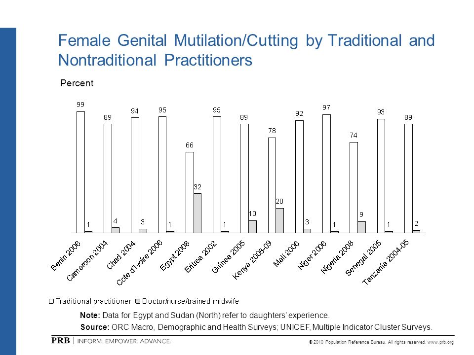 Female Genital Mutilation/Cutting by Traditional and Nontraditional Practitioners
