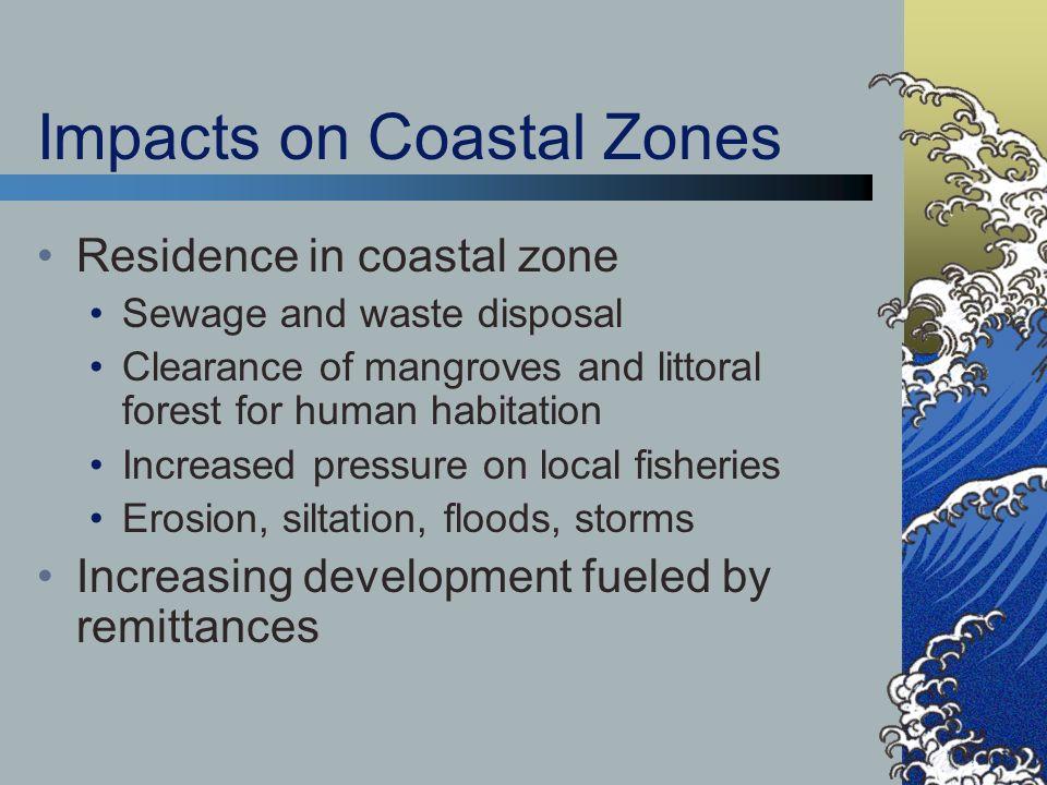 Impacts on Coastal Zones