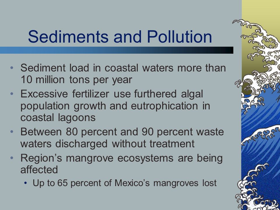 Sediments and Pollution