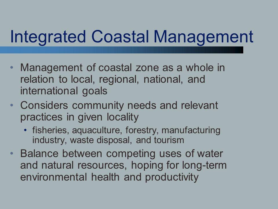 Integrated Coastal Management