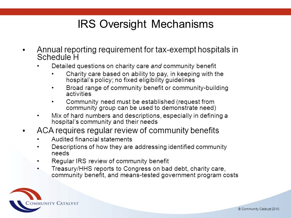 IRS Oversight Mechanisms