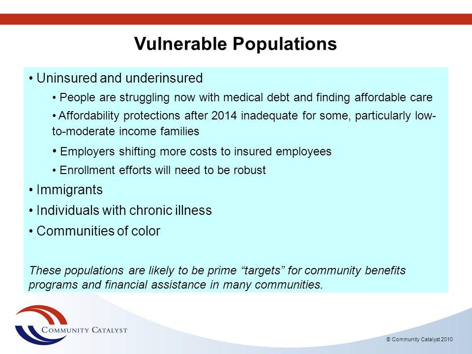 Vulnerable Populations