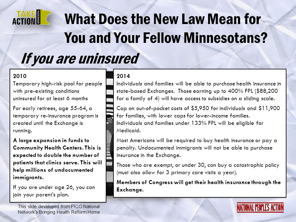 What Does the New Law Mean for You and Your Fellow Minnesotans
