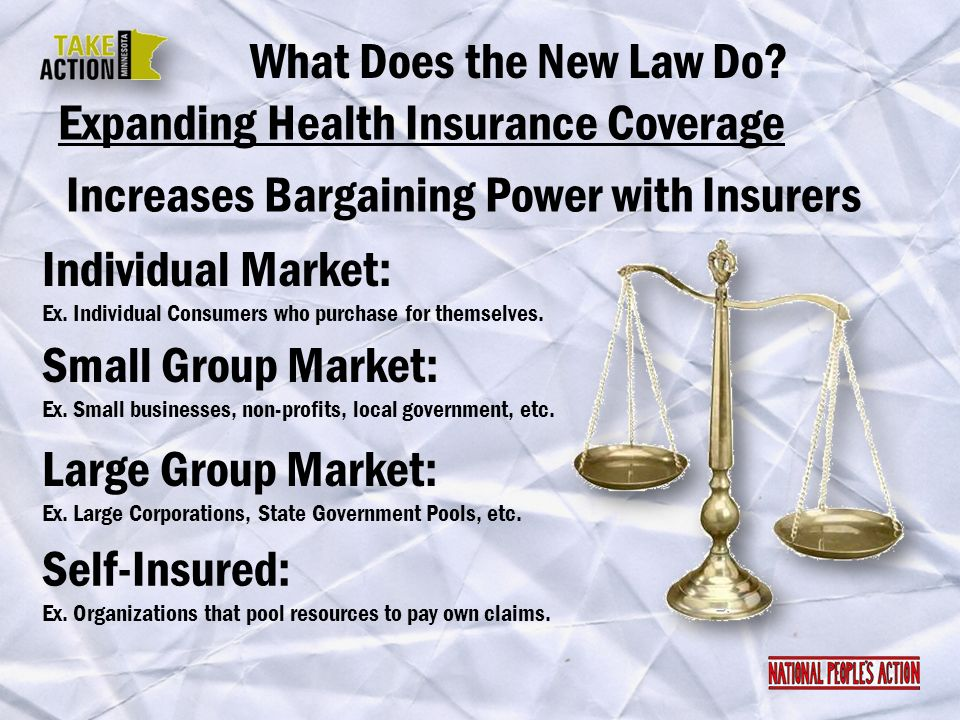 Expanding Health Insurance Coverage